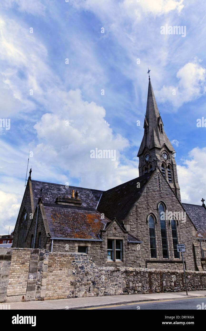 Ringsend church in Dublin, Ireland - Stock Image