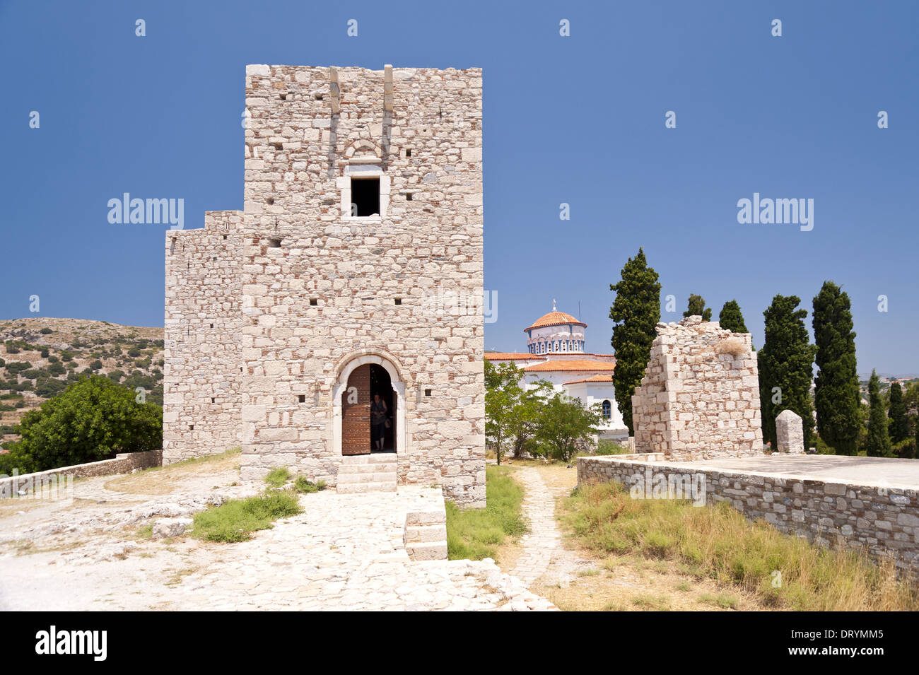 Pythagorion on Samos - Stock Image
