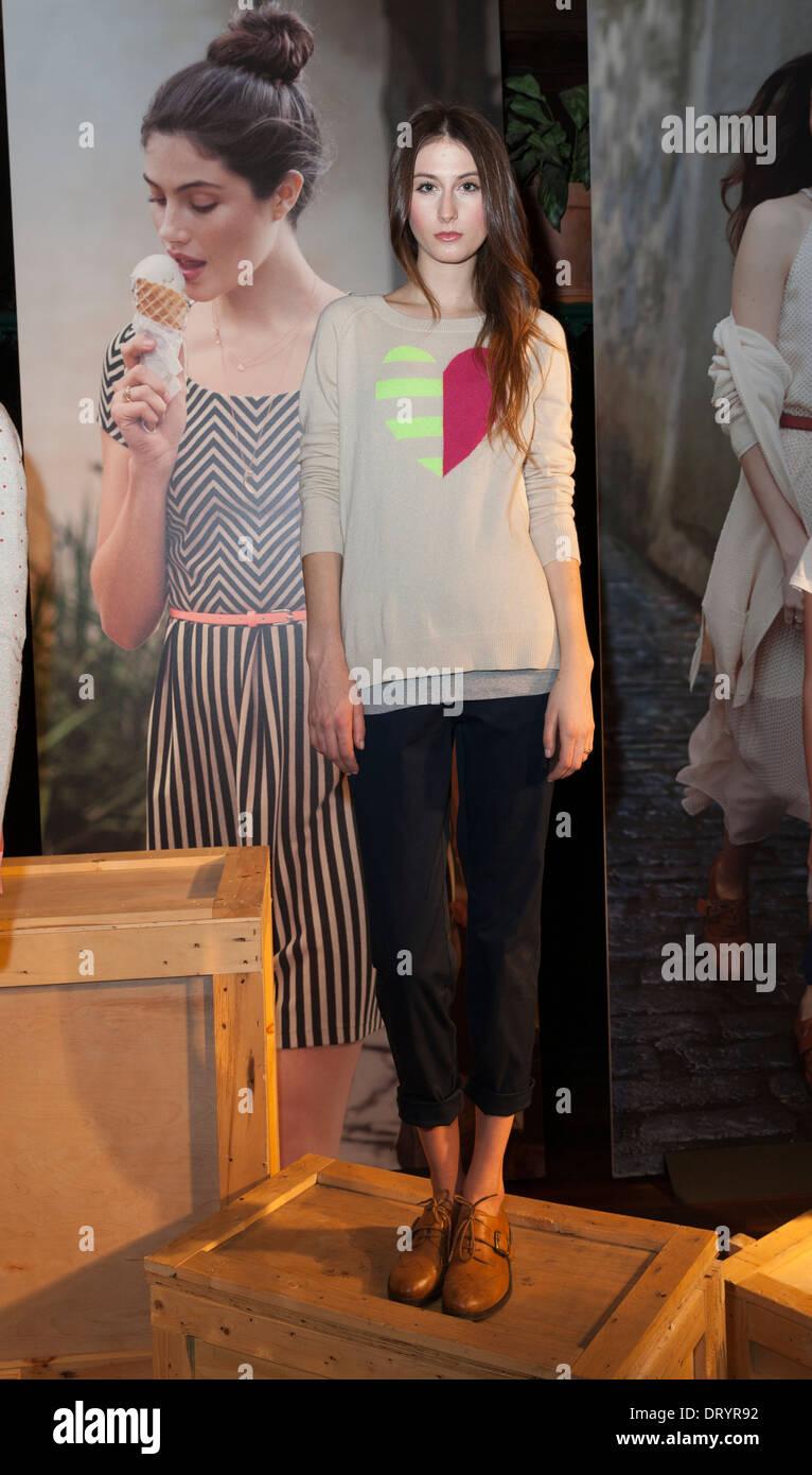 Maison Jules presentation at New York Fashion Week Stock Photo ...