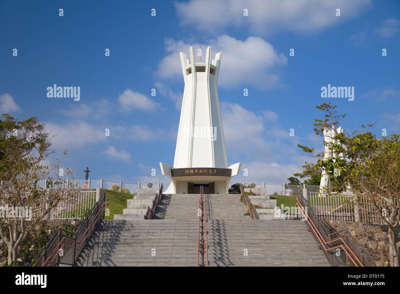 Memorial Peace Park, Okinawa, Japan - Stock Image