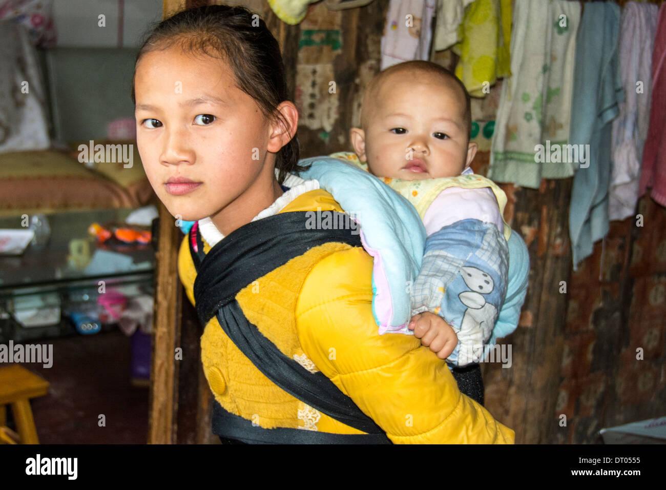 China, Yangshuo town Stock Photo
