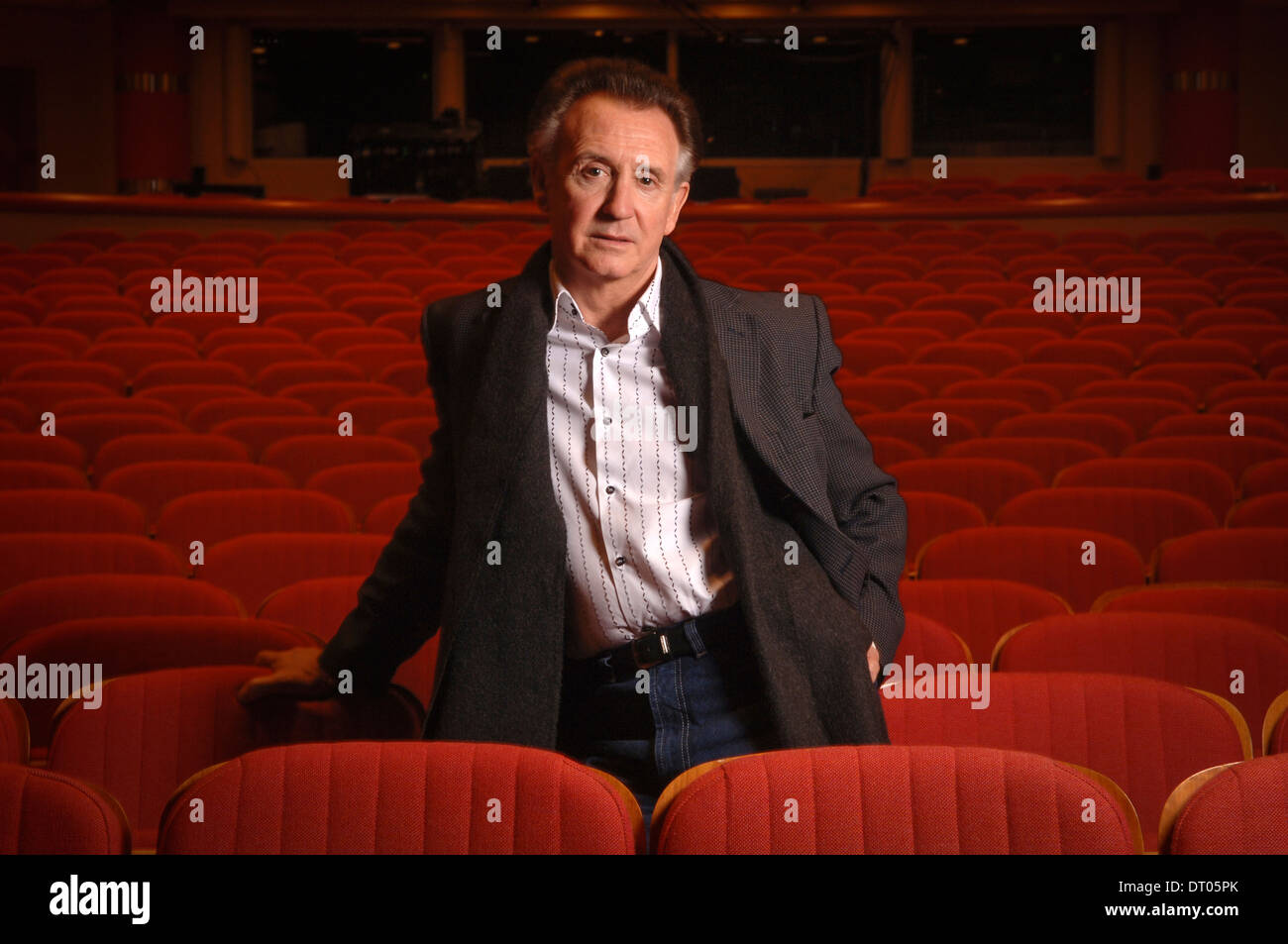 Tony Christie photographed at The Birmingham Symphony Hall,UK. - Stock Image