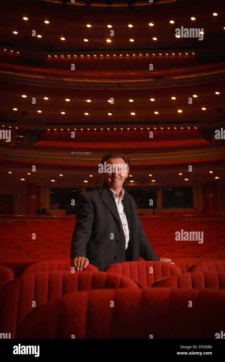 Tony Christie photographed at The Birmingham Symphony Hall,UK. - Stock Image