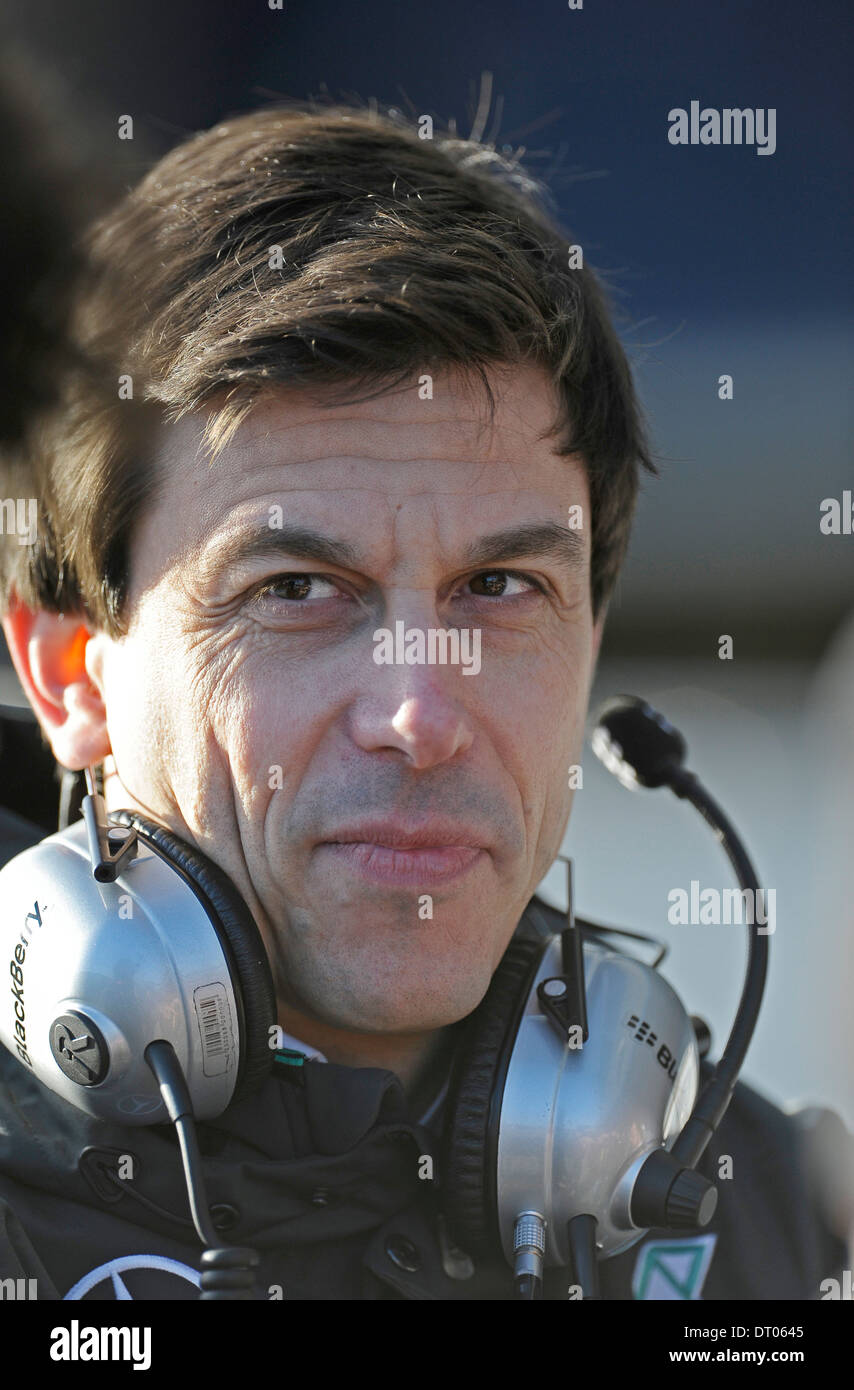 head of Motorsport Toto Wolff (AUT), Mercedes during Formula One ...