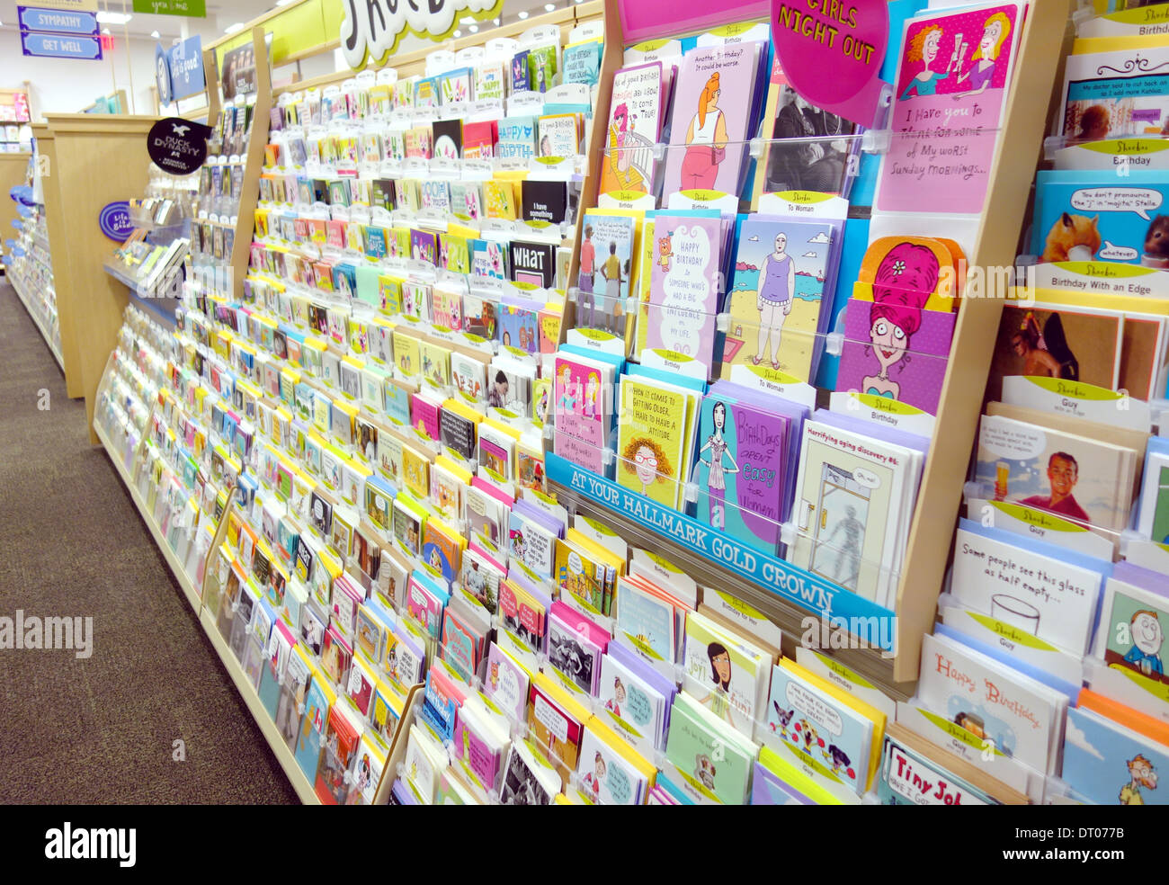 Greetings cards in a hallmark store in toronto canada stock photo greetings cards in a hallmark store in toronto canada m4hsunfo