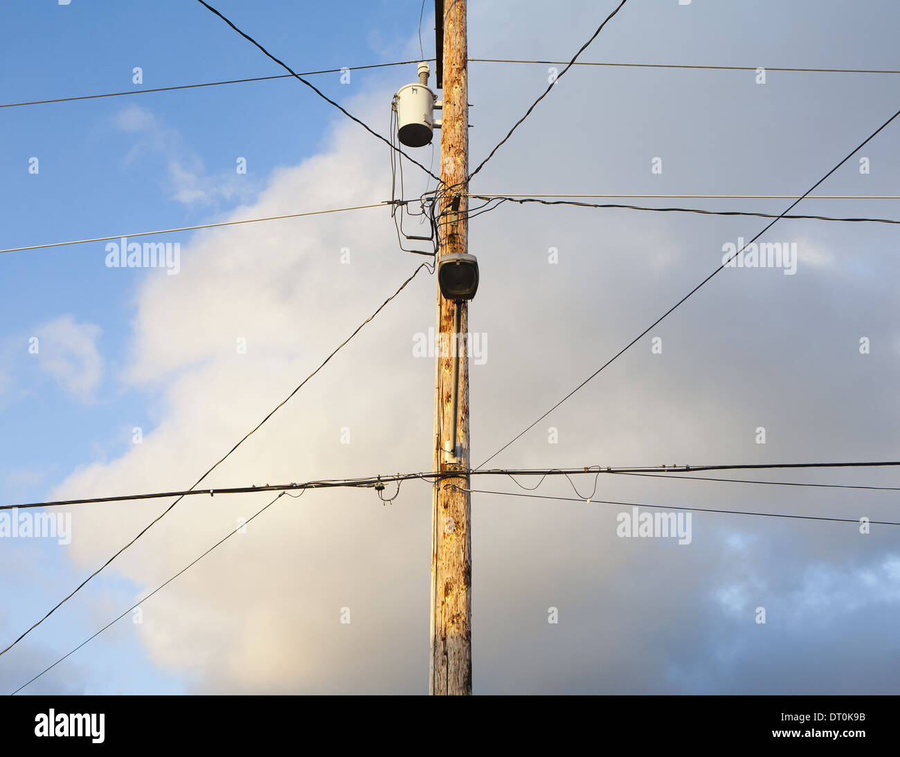 Telephone Pole Wires Stock Photos & Telephone Pole Wires Stock ...