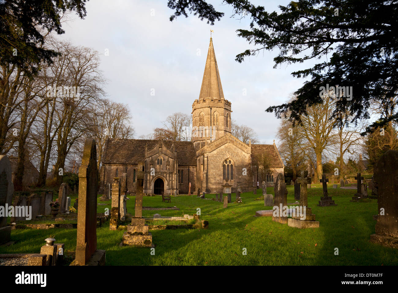 St Aldhelm's Church, Doulting, Somerset Stock Photo
