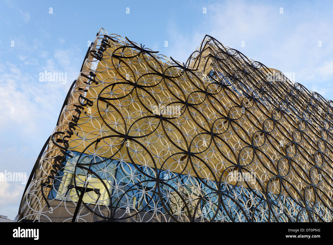 The Library of Birmingham exterior detail - Stock Image