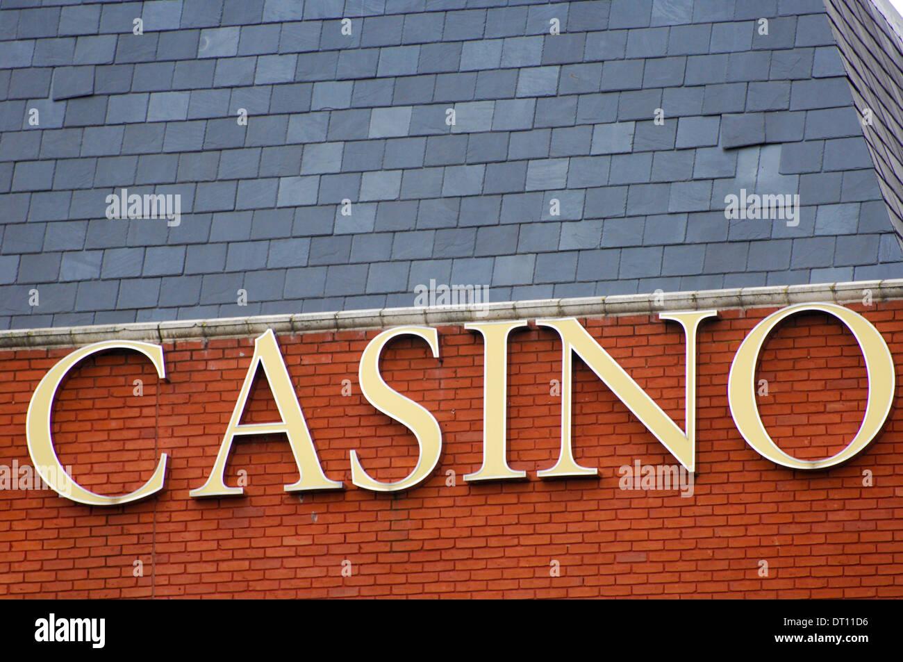 Casino Northampton - Stock Image