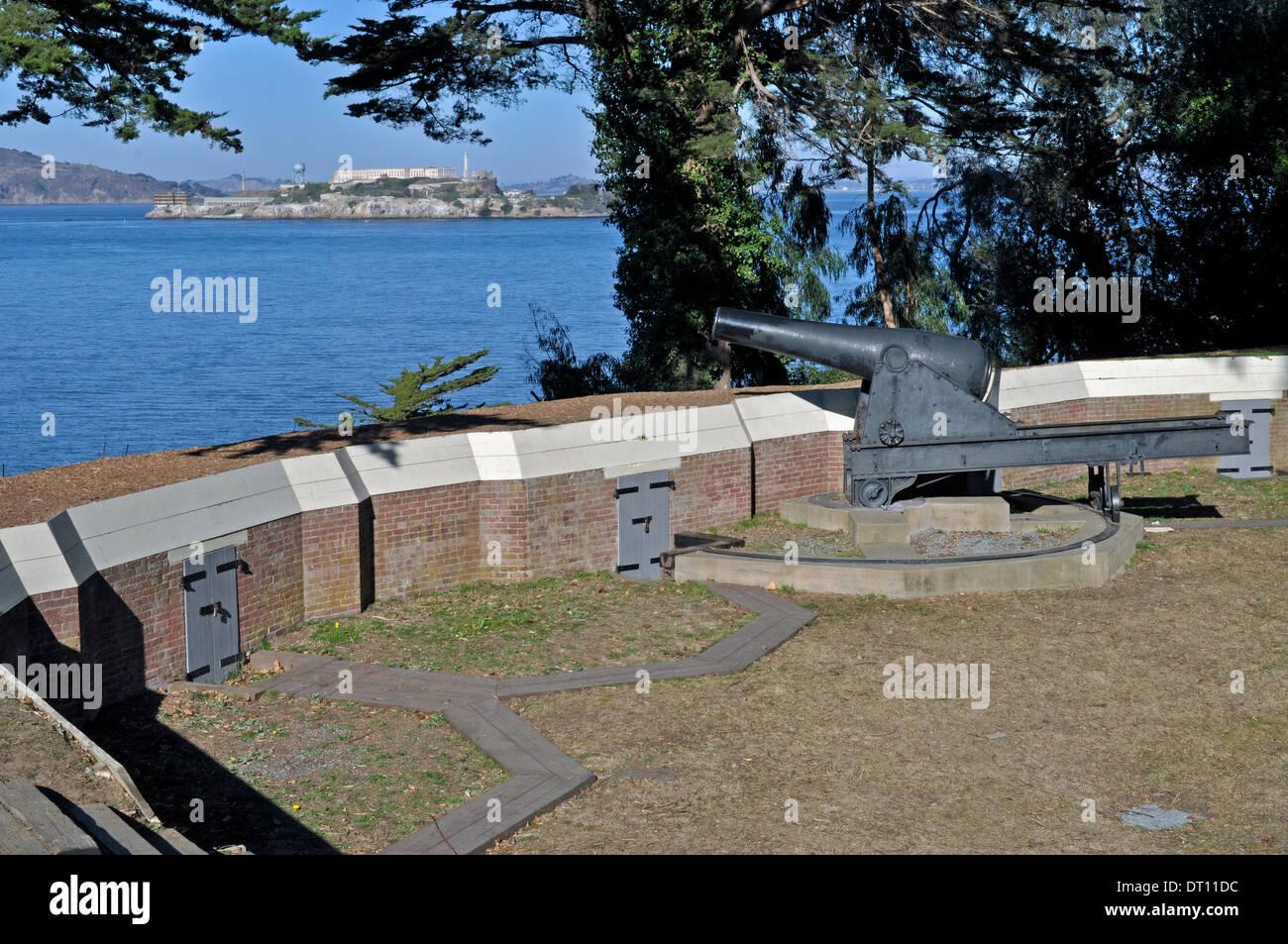 Canon at Fort Mason, San Francisco - Stock Image
