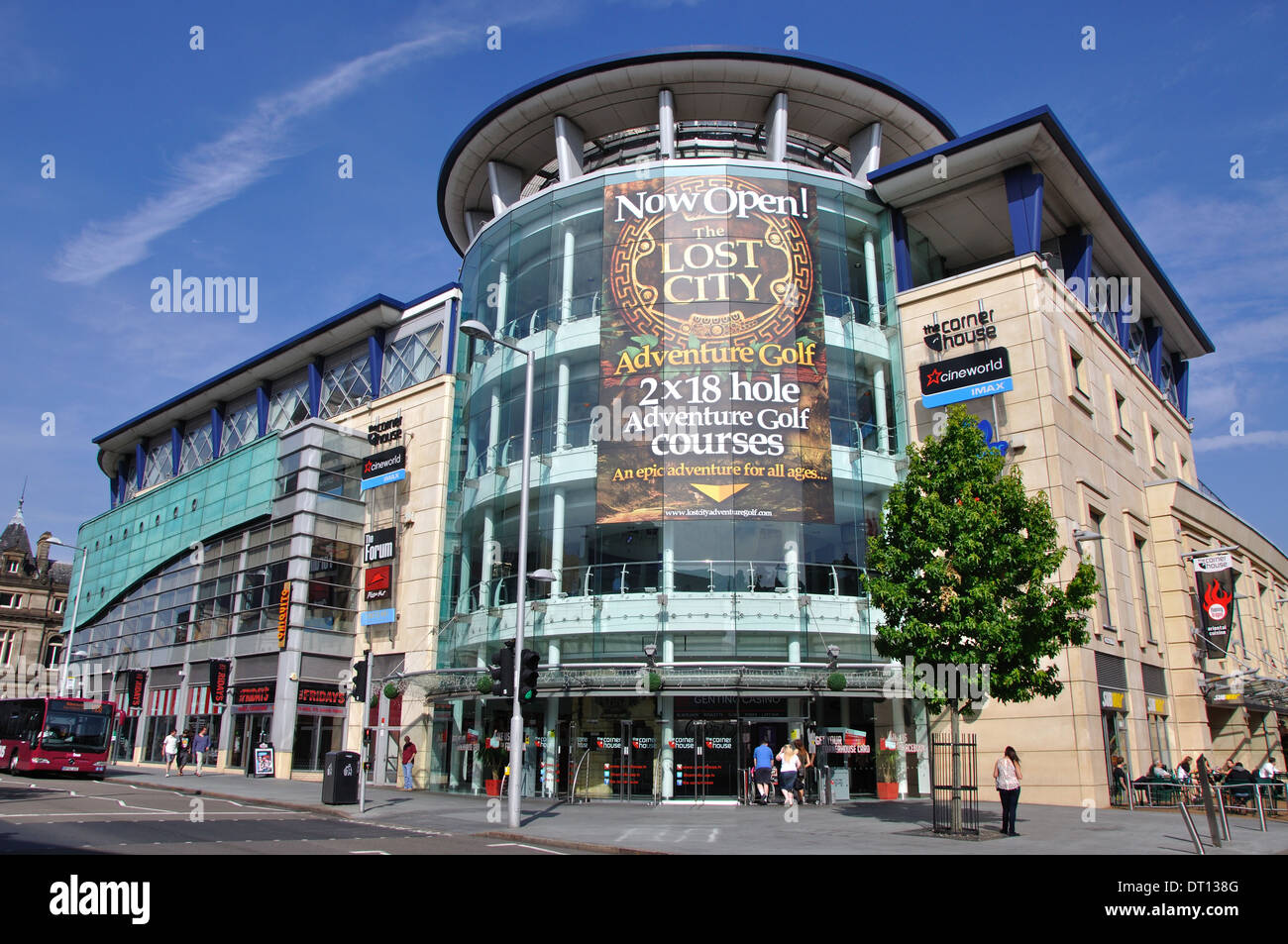 The Corner House, Burton Street, Nottingham, England, UK - Stock Image