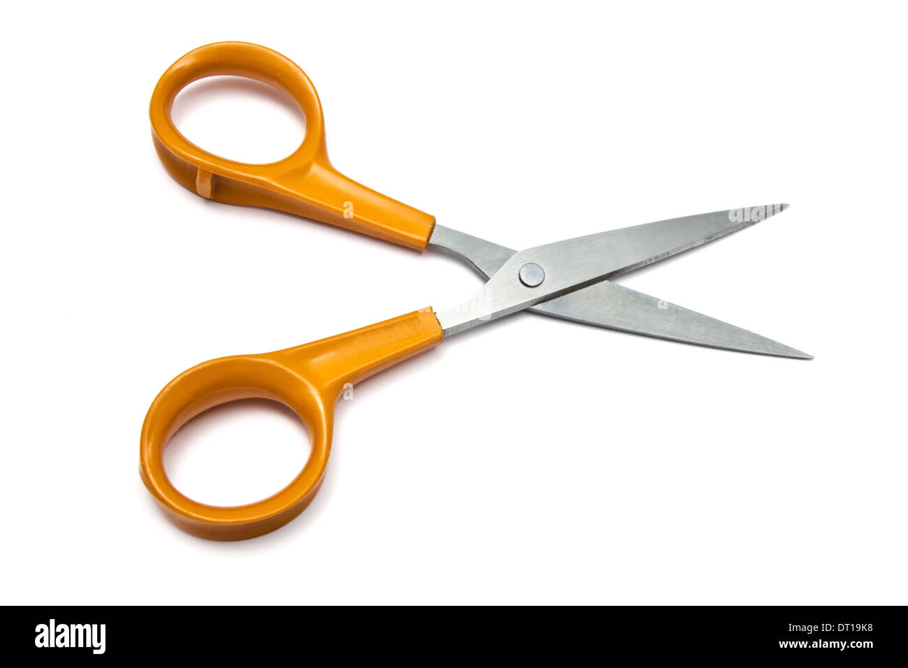 Handled scissors - Stock Image