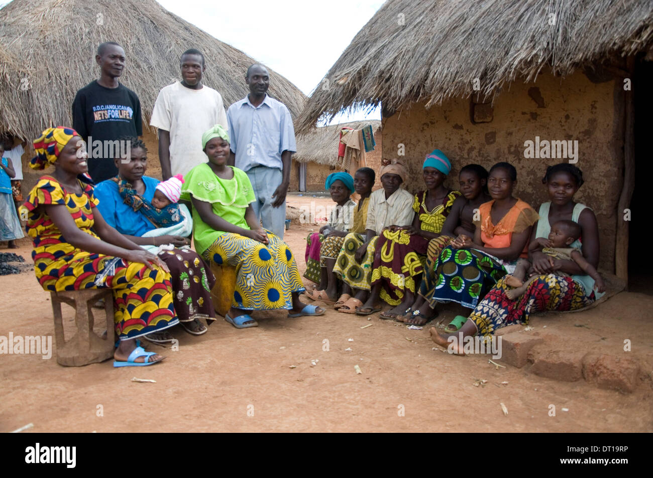 malaria clubs meet to educate communities regarding malaria Stock Photo
