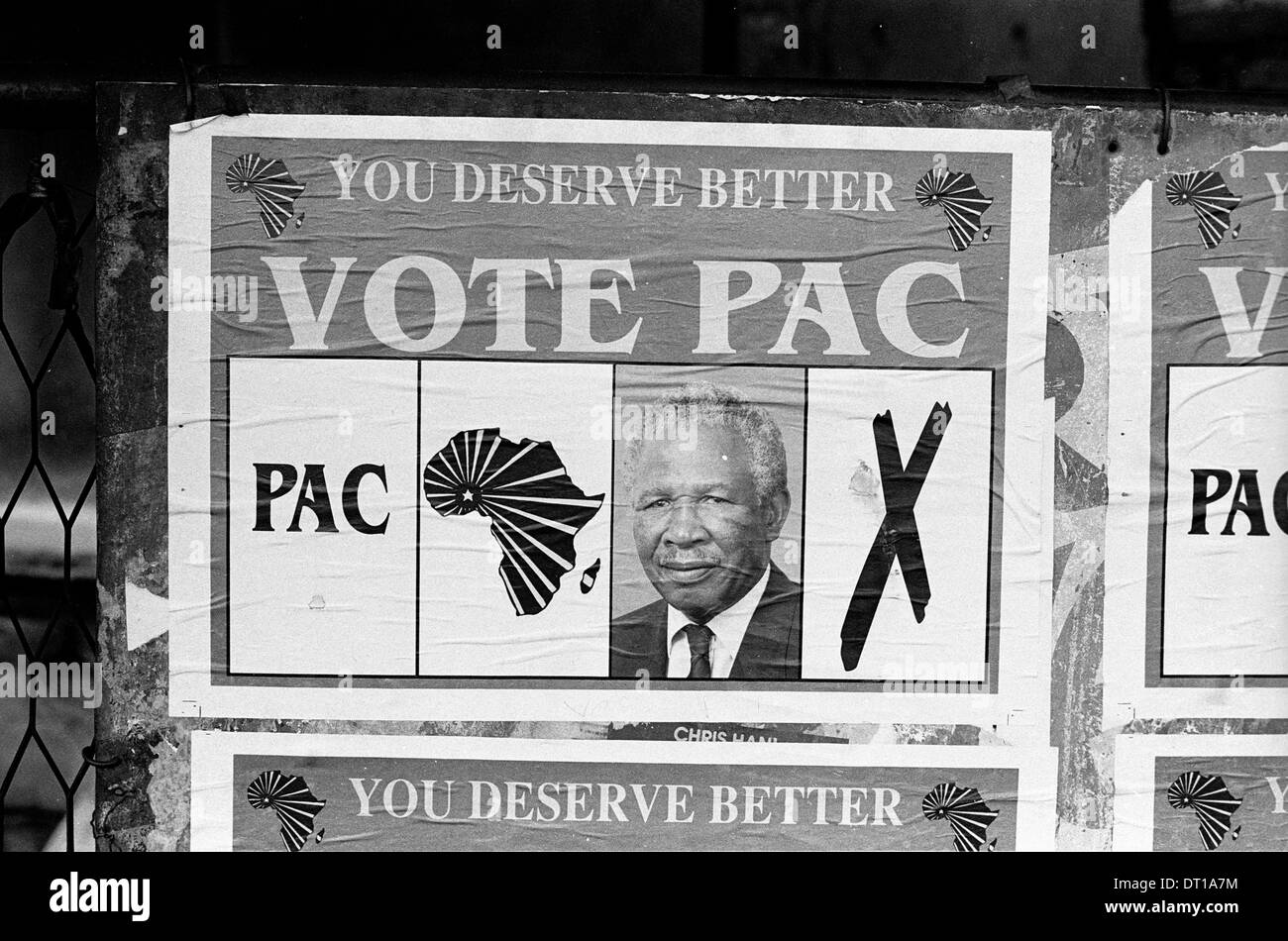 1st democratic election south africa