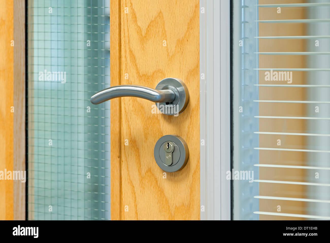 office door handles.  Door Handle And Lock On Office Door England UK United Kingdom GB Great Britain On Office Door Handles E