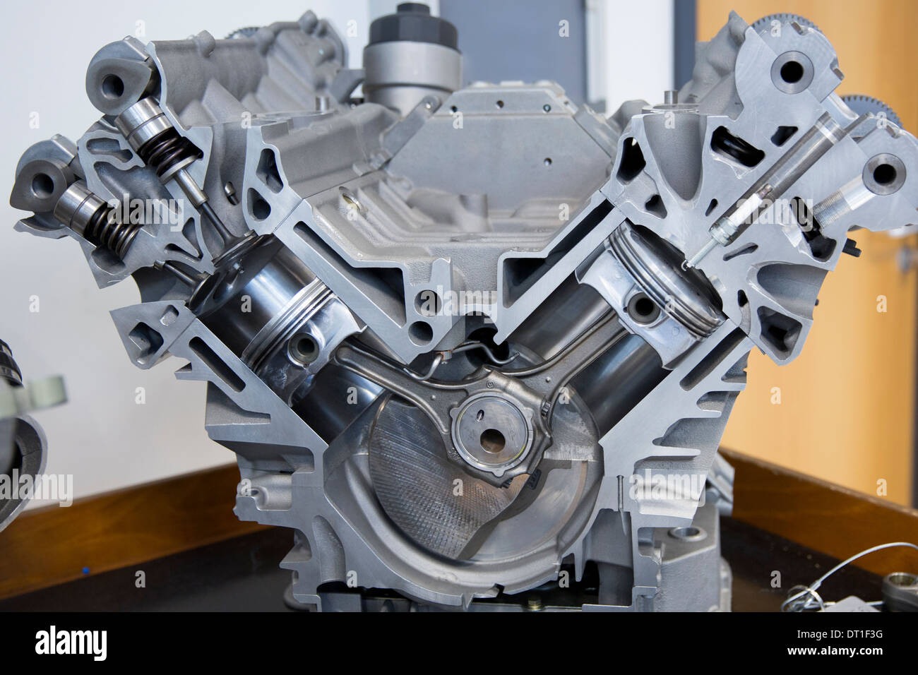 Mercedes Amg Engine Production Factory In Affalterbach In Germany Dt F G