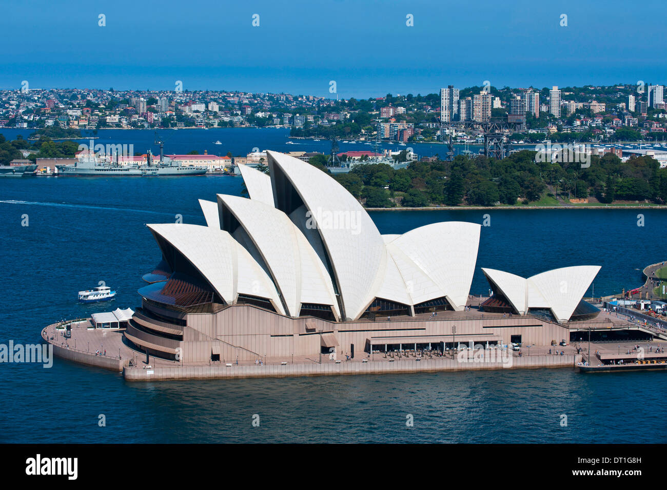 The famous Opera House, UNESCO World Heritage Site, Sydney, New South Wales, Australia, Pacific - Stock Image