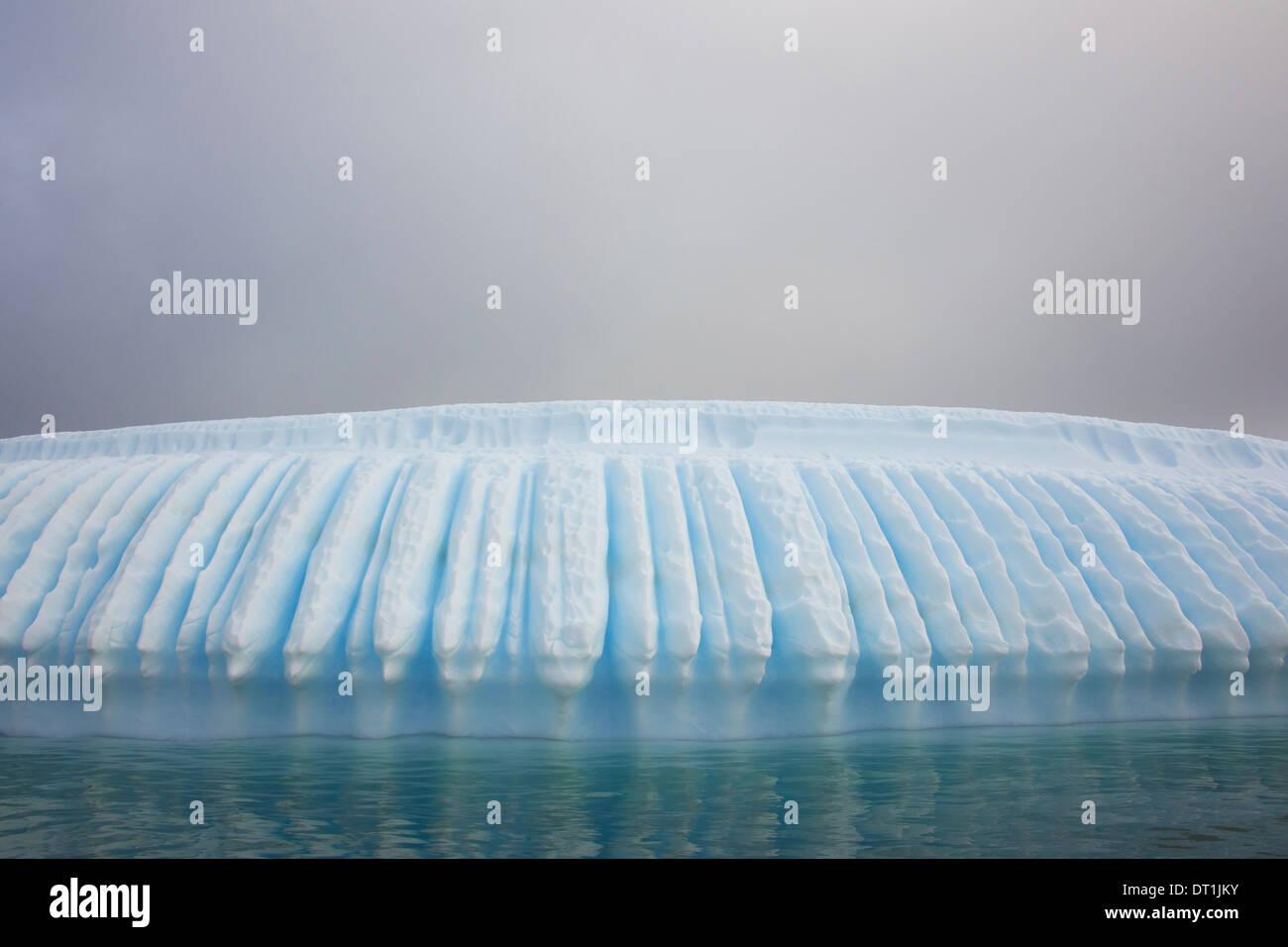 Iceberg along the Antarctic Peninsula - Stock Image