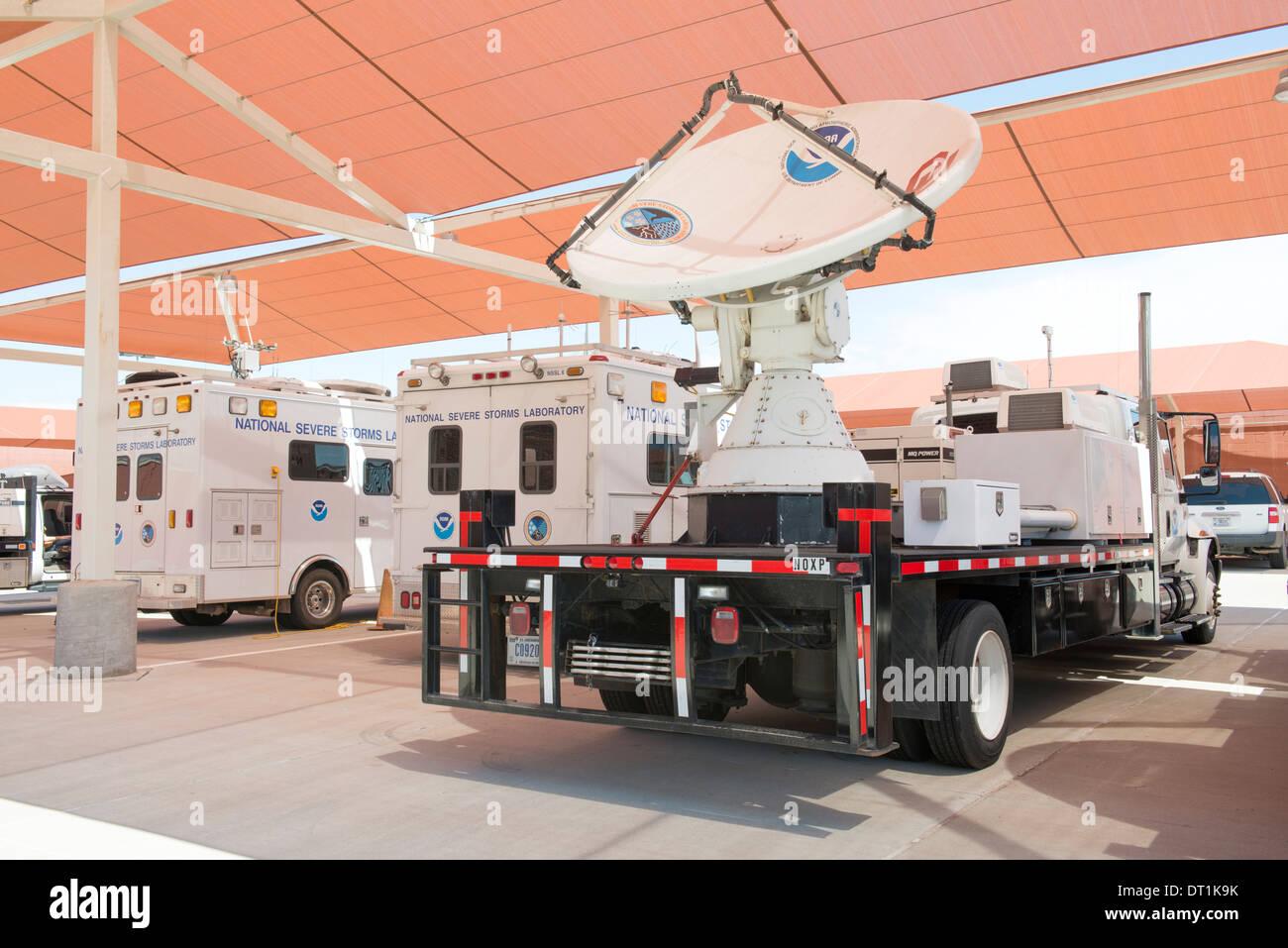 Dual-polarized X-Band mobile radar known as NOAA X-POL (NOXP