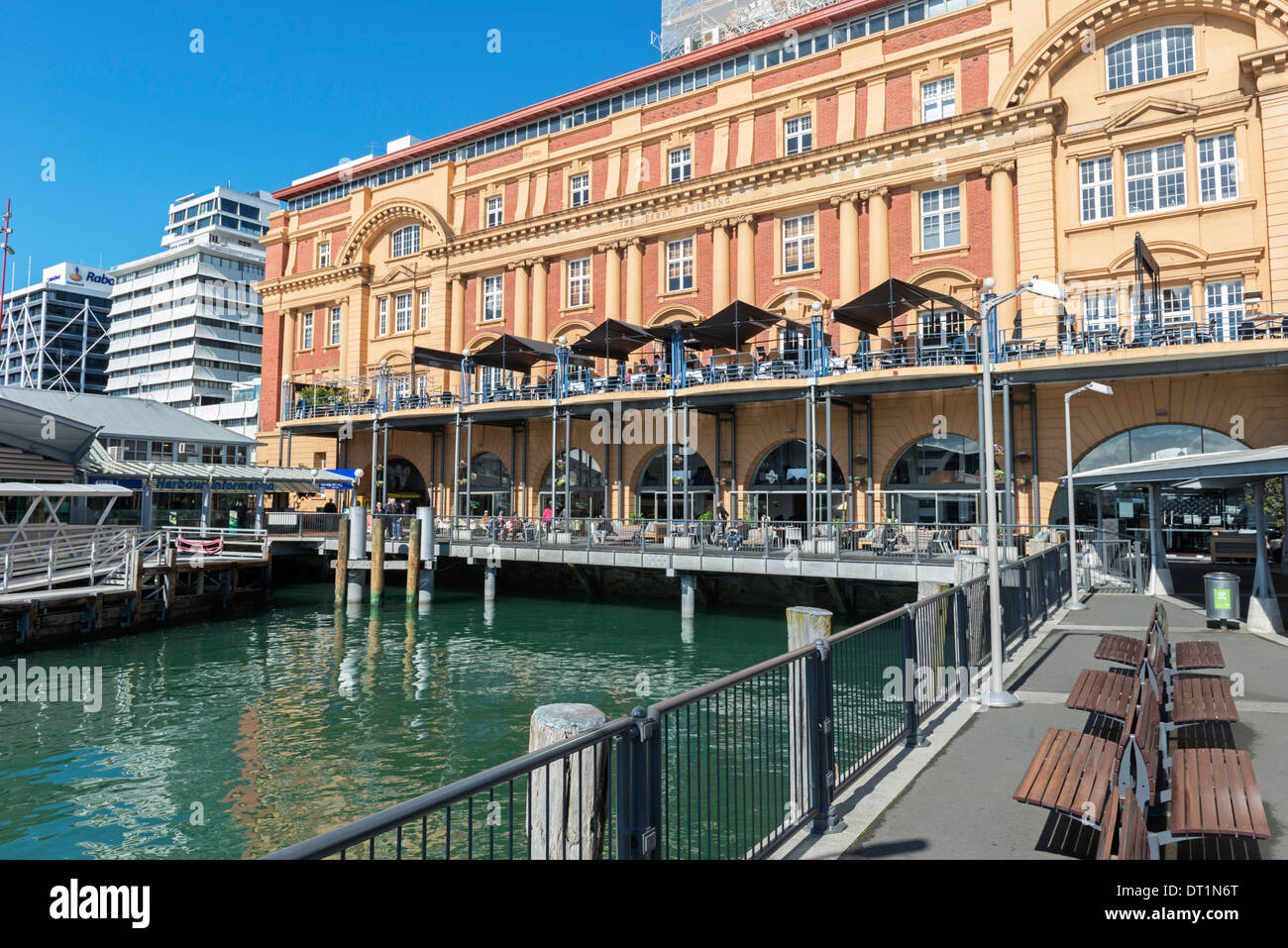 Auckland Ferry Terminal, Auckland, North Island, New Zealand, Pacific - Stock Image