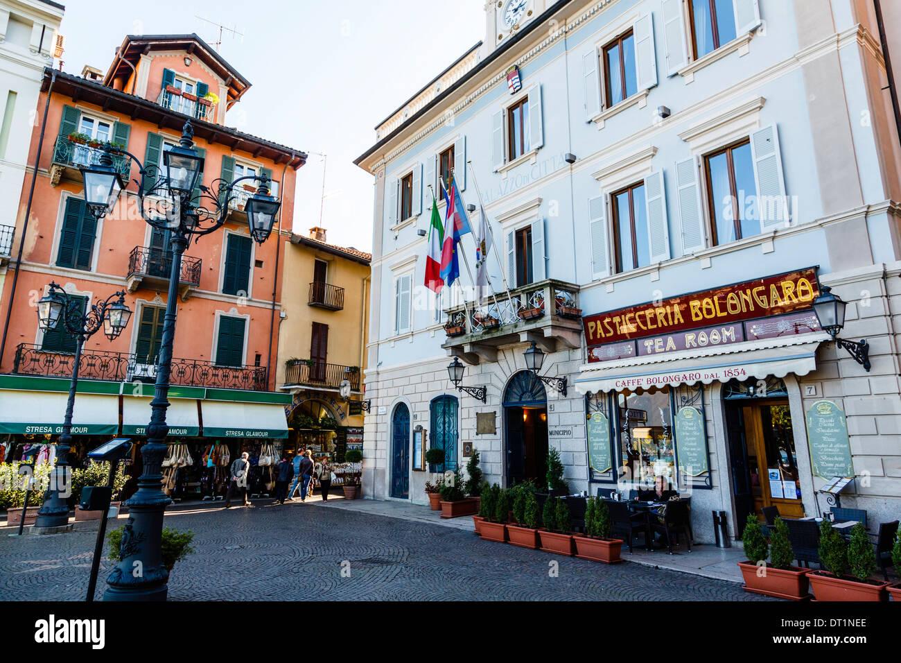 Stresa, Lake Maggiore, Piedmont, Italy, Europe - Stock Image