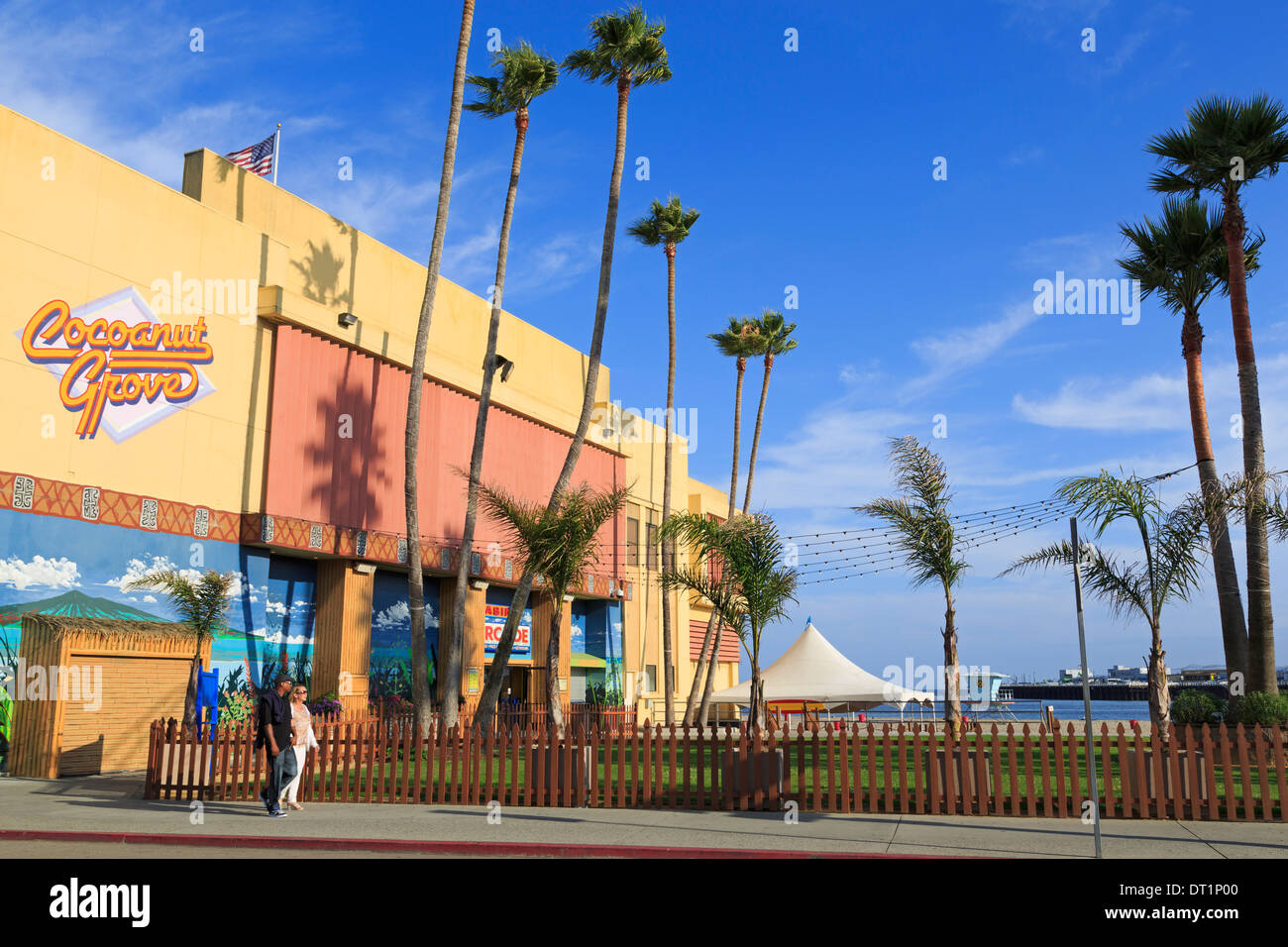 Boardwalk Arcade, Santa Cruz, California, United States of America, North America - Stock Image