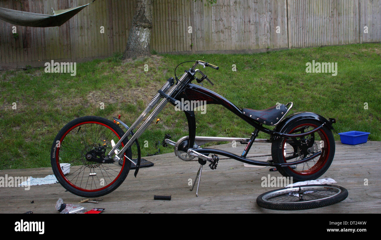f7a0cd54b33 Chopper Bicycle Stock Photos & Chopper Bicycle Stock Images - Alamy