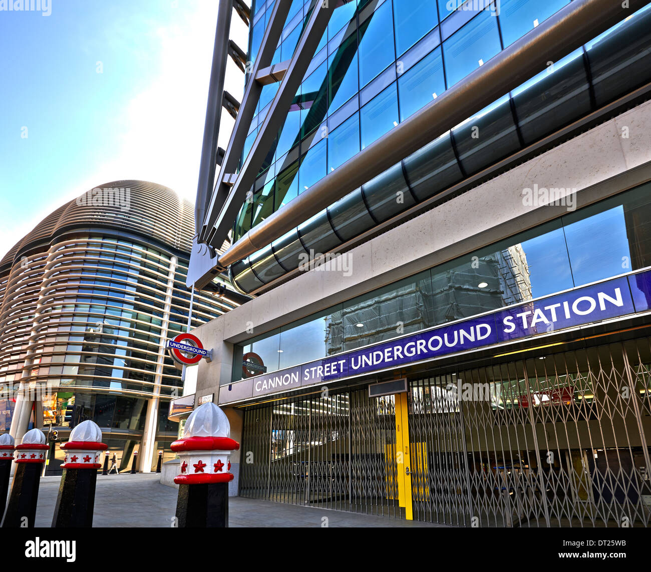 Cannon Street station, also known as London Cannon Street or simply Cannon Street - Stock Image