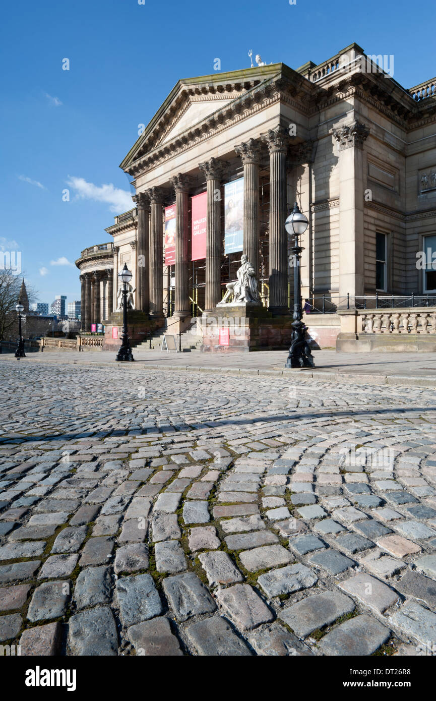 The Walker Art Gallery, Liverpool, Merseyside, England, UK - Stock Image