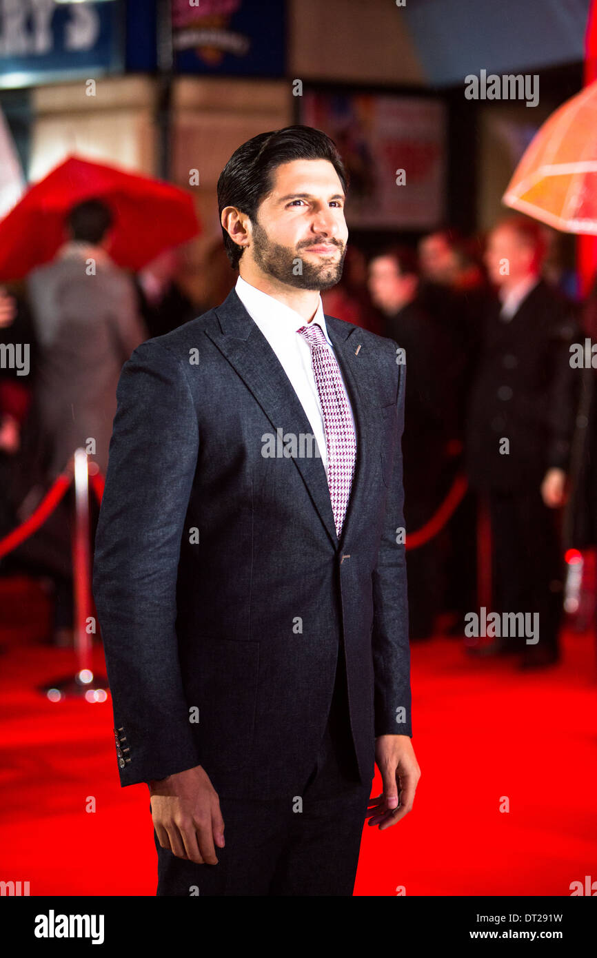 Kayvan Novak at the Cuban Fury premiere in Leicester square, London. 2014 - Stock Image