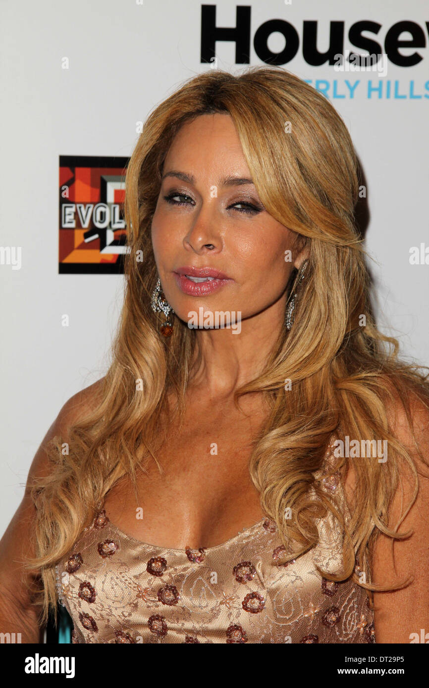 Faye Resnick at 'The Real Housewives of Beverly Hills' Season Three Premiere Party, Roosevelt Hotel, Hollywood, CA 10-21-12 - Stock Image