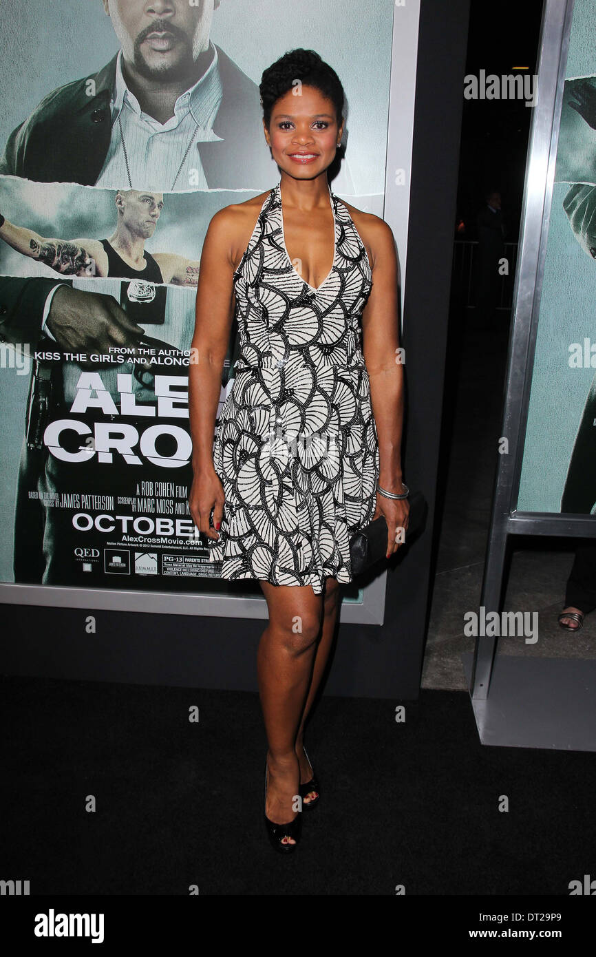 Kimberly Elise at the 'Alex Cross' Los Angeles Premiere, Arclight, Hollywood, CA 10-15-12 - Stock Image