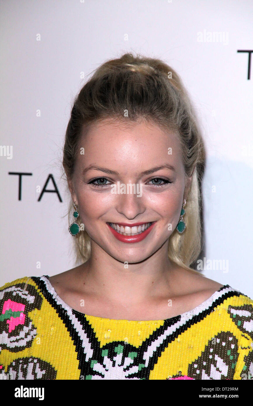 Francesca Eastwood at the Tacori 'City Lights' Jewelry Collection Launch, The Lot, West Hollywood, CA 10-09-12 - Stock Image