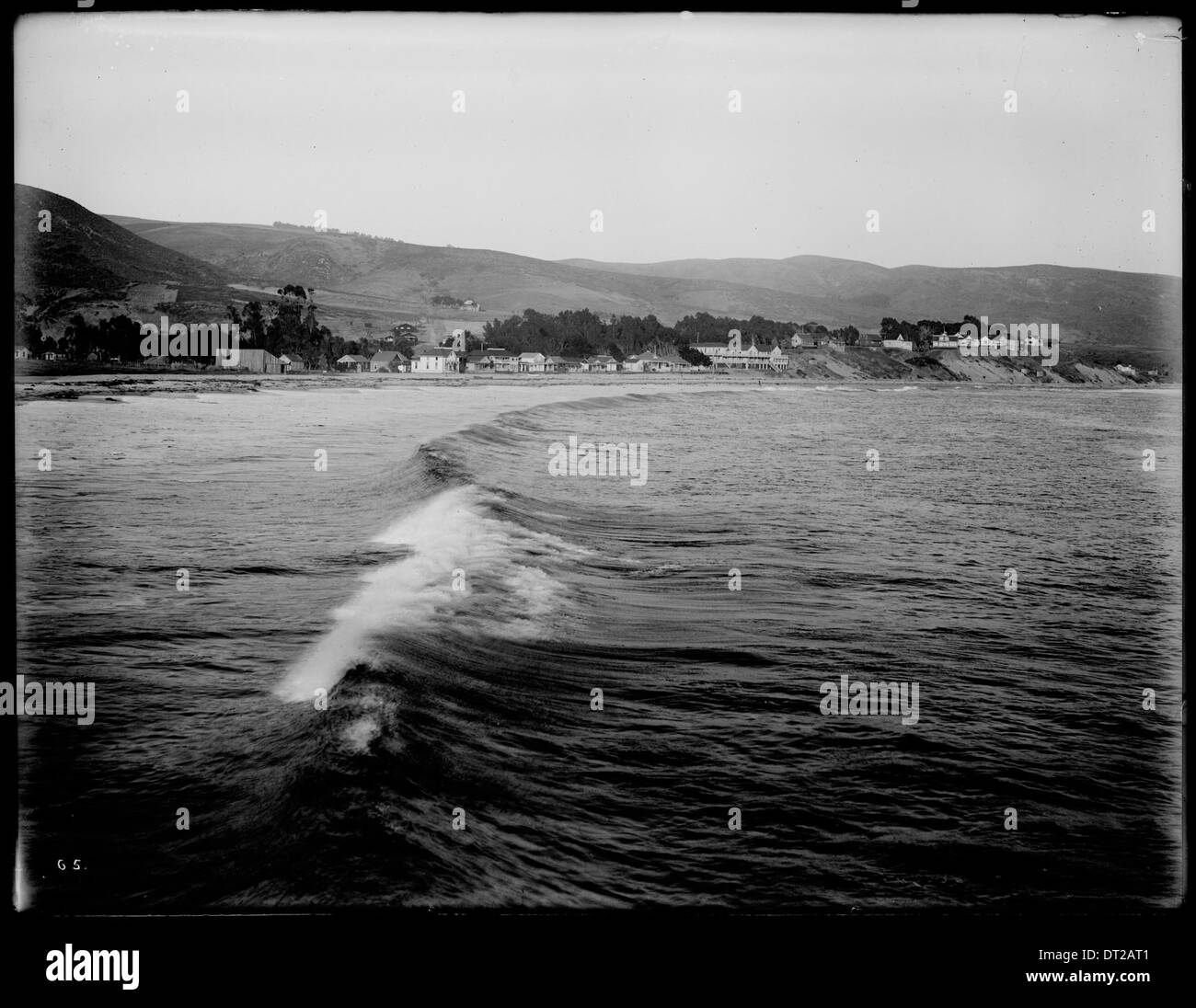 Laguna Beach from the north, ca.190 Stock Photo