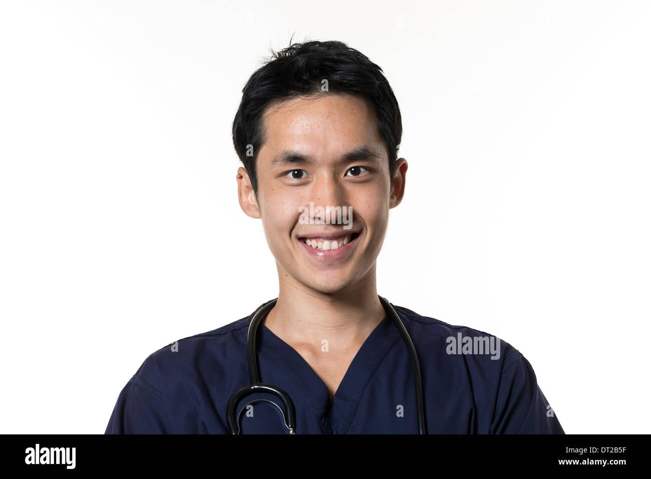Asian Male Nurse