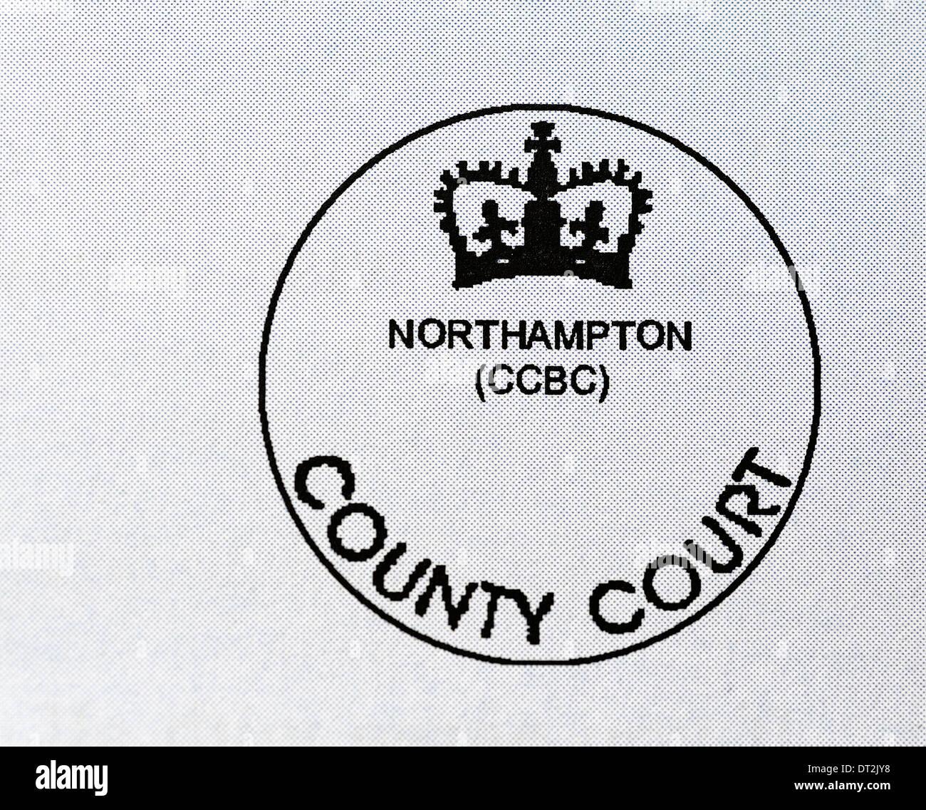 northampton county court bulk center stamp stock photo 66441628 alamy