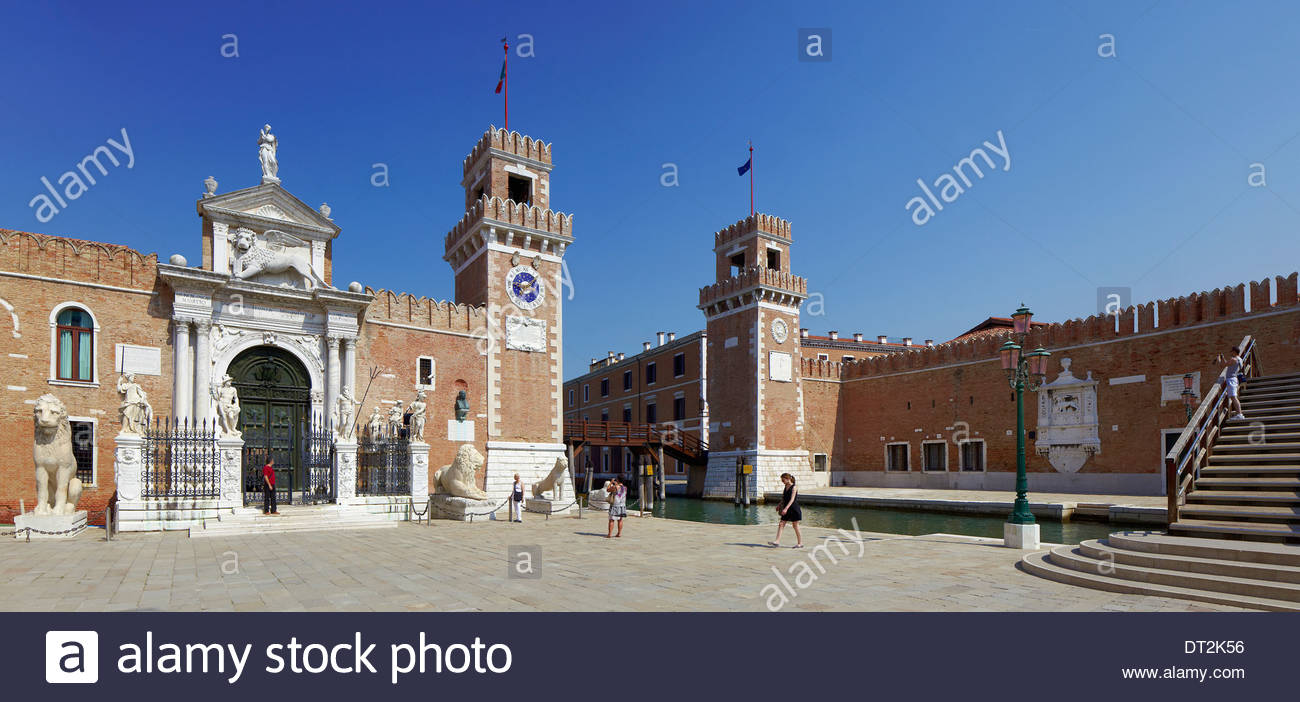 campo arsenale, venice, italy, europe - Stock Image