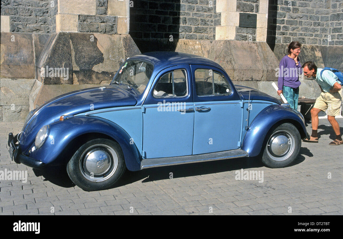VOLKSWAGEN BELONGING TO 'THE WIZARD' A FAMOUS CHRISTCHURCH NEW ZEALAND - Stock Image