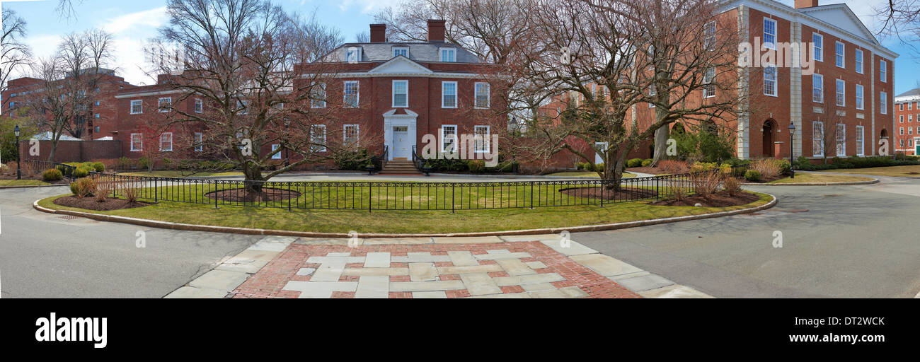 06.04.2011, USA, Harvard University, panorama house Rector - Stock Image