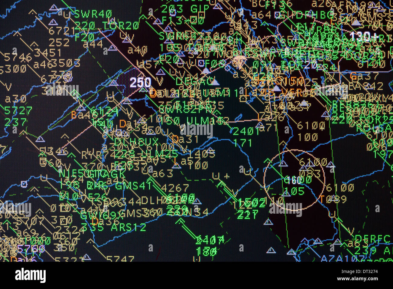 Air Traffic Control California Map.Air Traffic Control Stock Photos Air Traffic Control Stock Images