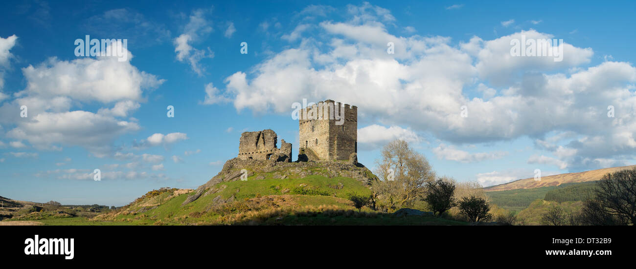 dolwyddelan castle, Snowdonia National Park, North Wales Stock Photo
