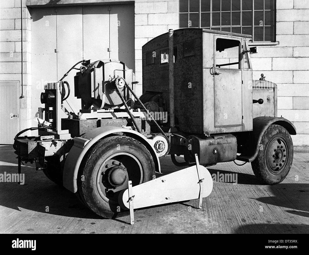 1946 Scammell Chain Drive special tractor - Stock Image
