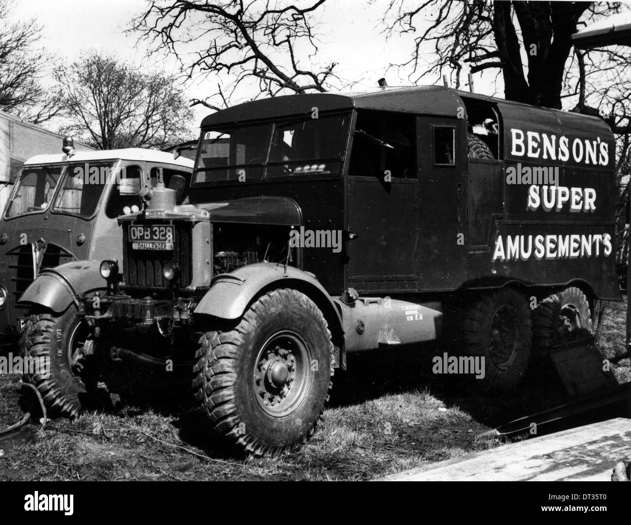 1950 Scammell Challenger - Stock Image