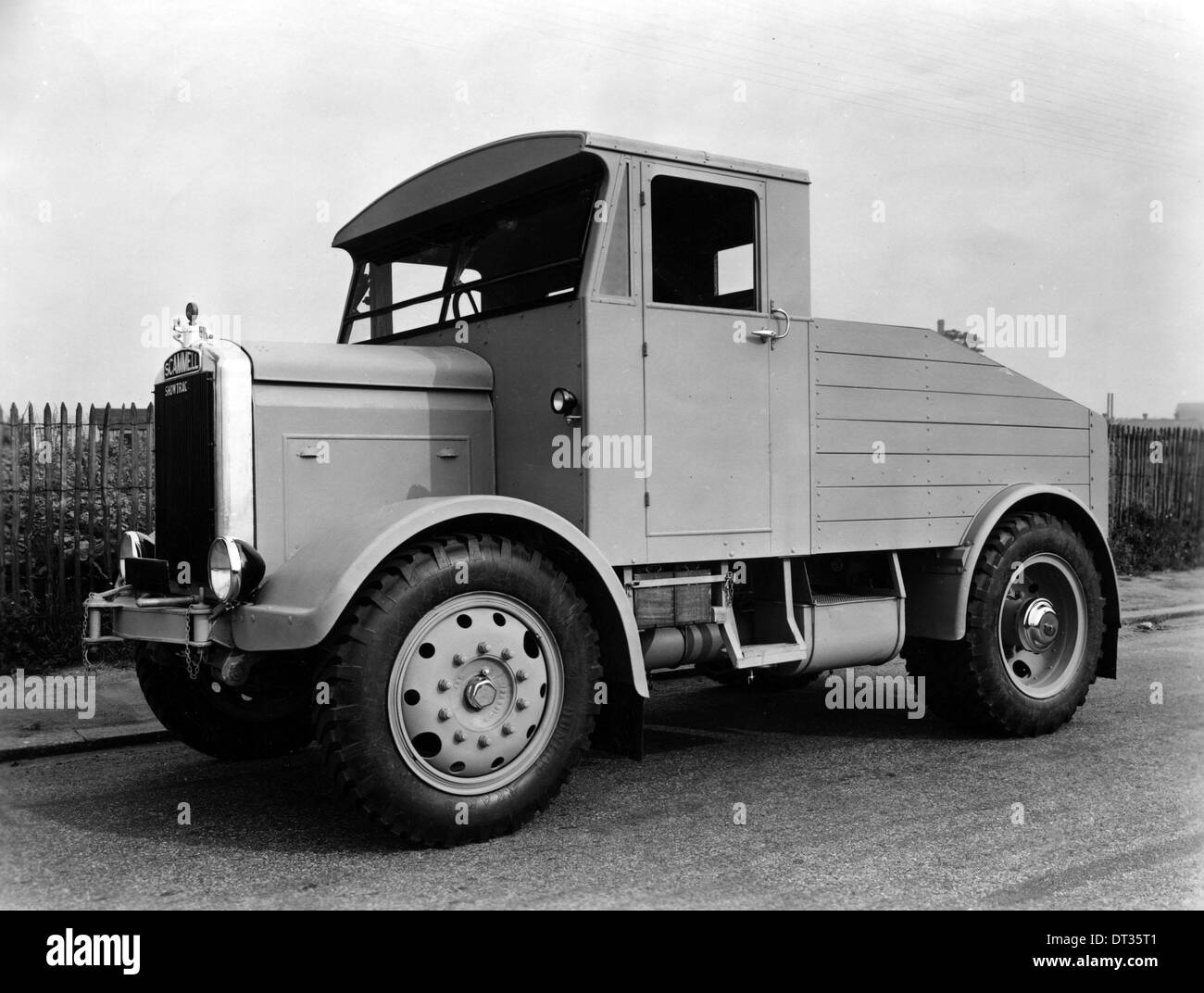 1946 Scammell showman's tractor Stock Photo