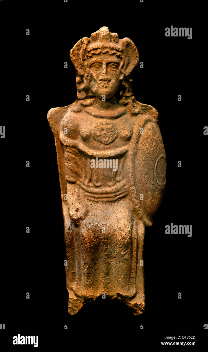 Goddess Aegis 400 BC  Etruscan Etruria Italy - Stock Image