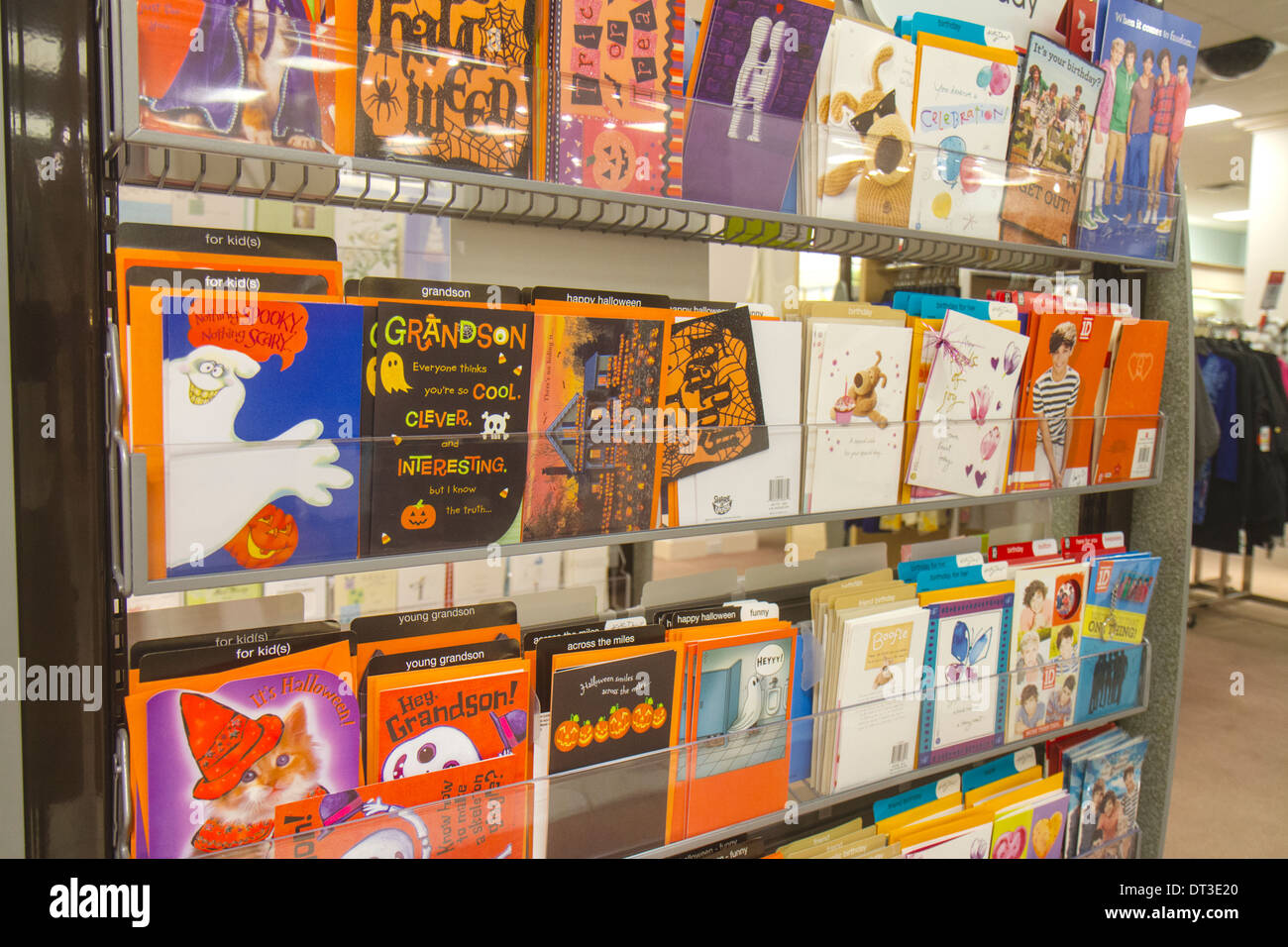 Display greeting cards stock photos display greeting cards stock fort myers florida ft edison mall shopping macys department store inside sale retail display greeting m4hsunfo