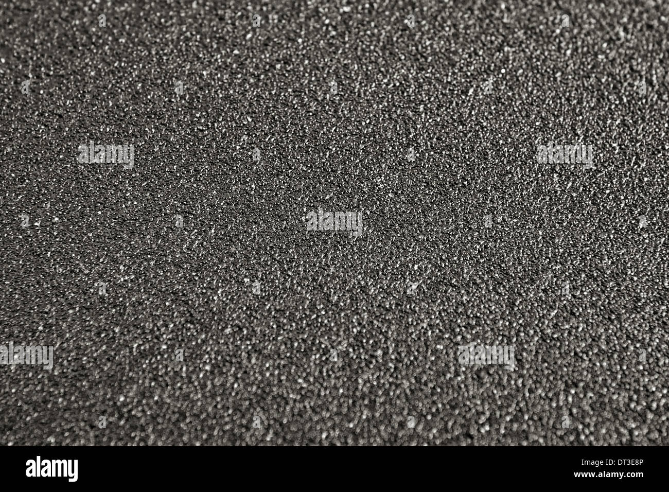 paper, rough, texture, background, sandpaper, abstract, backdrop, grain, material, black, carpentry, closeup, sand, textured, ab - Stock Image
