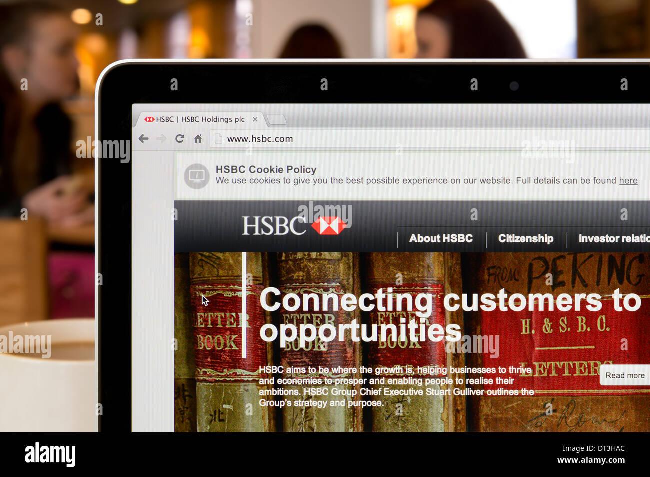 Hsbc Website Stock Photos & Hsbc Website Stock Images - Alamy