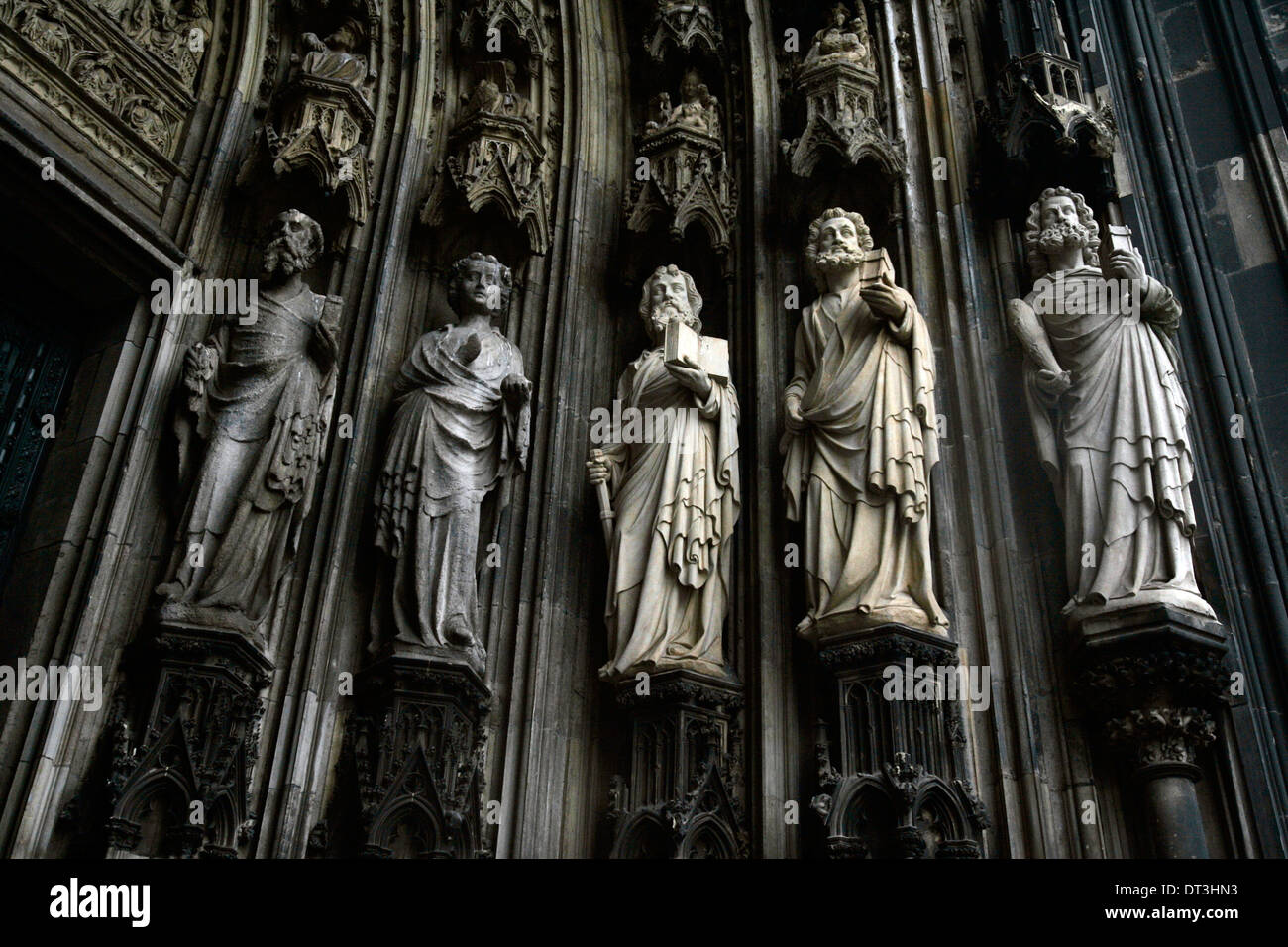 Cologne Cathedral in Germany. - Stock Image