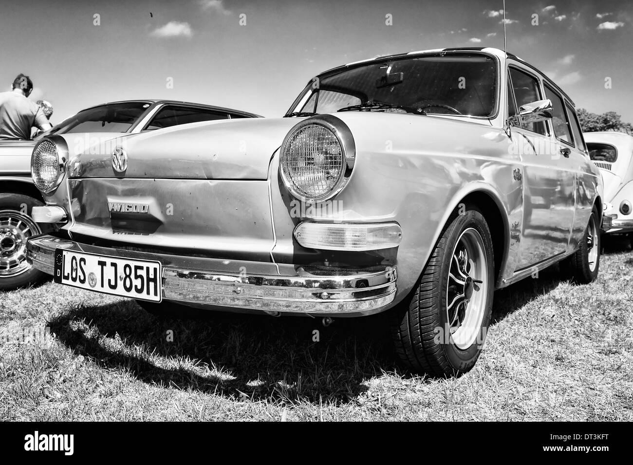Compact car Volkswagen 1600 Variant ('Squareback') - Stock Image